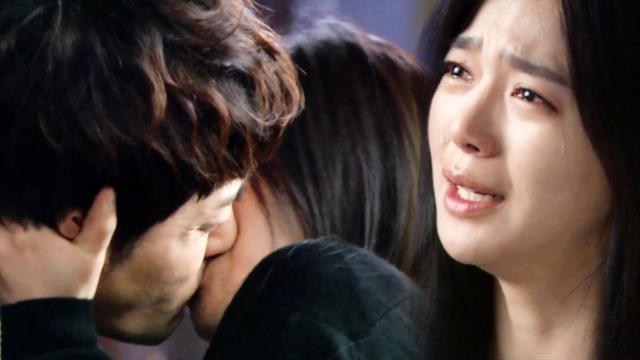 """돌아온 황금복 7회: 이엘리야, 김진우에 강제 키스 """"너도 내가 더럽니?"""" -SBS"""