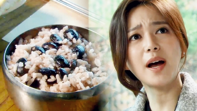 """돌아온 황금복 112회: 이엘리야, 출감 후 콩밥 밥상에 분노 """"쌀밥 가져와!"""" -SBS"""