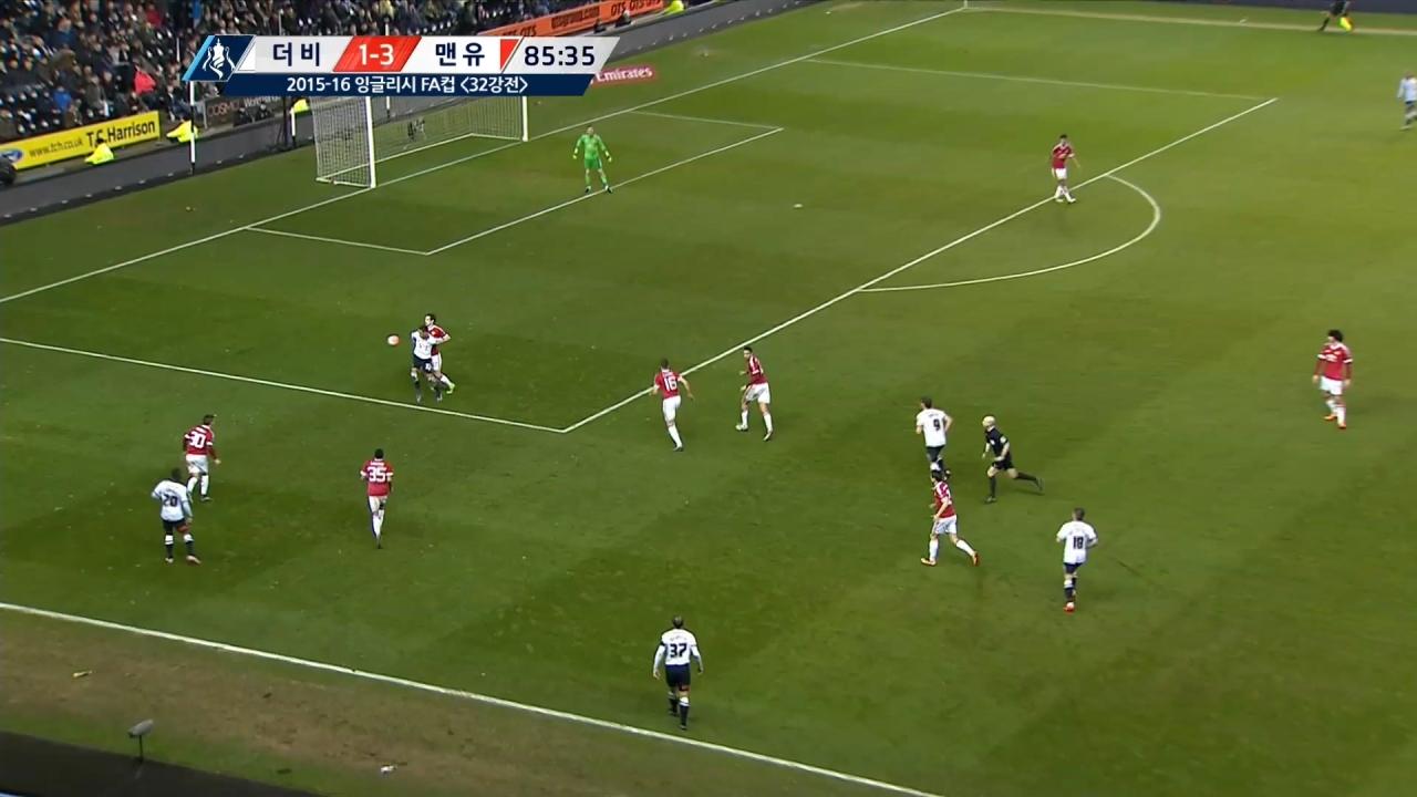 15-16 잉글랜드 FA컵 8회 다시보기:  [4R] 더비 vs 맨유 SBS Sports